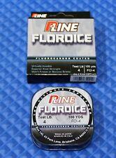 P-Line Floroice Fluorocarbon Coated Fishing Line 4 Lb 100 yds Fci-4