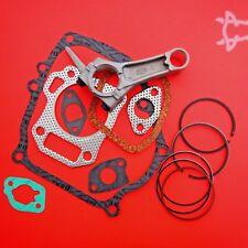 Engine Overhaul Kit, Piston Rings, Conrod & Gasket Set, Fits Honda GX140 Engine