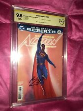 Action Comics 982 Janin Variant CBCS 9.8 Signed By Superman Henry Cavill!!