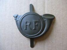 Insigne modèle 1915 Chasseurs pour casque Adrian kaki 1940
