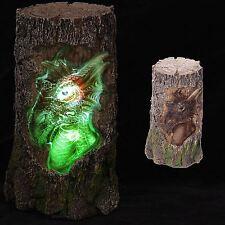 Dragon Tree Carving LED Cambia Colore 19 cm alto