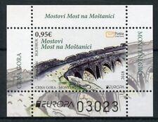Montenegro 2018 MNH Bridges Europa 1v M/S Architecture Bridge Stamps