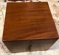 Vintage Kelvin & Wilfrid O White Pelorus in Dark Wood Case Boston NY