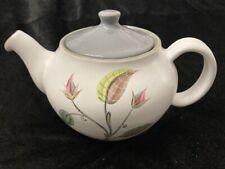 "Teapot Denby Langley ""Spring"" Signed A .College England 1950's pattern vintage"