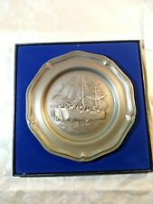 """The American Revolution Bicentennial Plate Collection """"The Boston Tea Party"""""""
