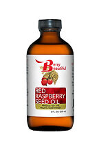 Red Raspberry Seed Oil - 8 fl oz (237 mL) - Cold-Pressed by Berry Beautiful