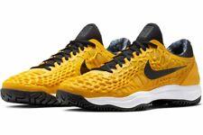 Nike Court Zoom Cage 3 Herren Tennis Schuhe Hardcourt 918193-700 Neu Gelb Gr.44