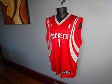 NBA ADIDAS Houston Rockets McGrady #1 Basketball Jersey mens MEDIUM tmac retired