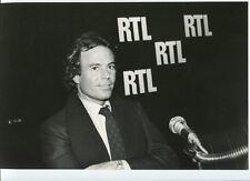 PHOTOGRAPHIE ORIGINALE Julio IGLESIAS RTL - 4- Christian GIBEY -