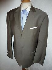 MENS TED BAKER ENDURANCE GREY WOOL MOHAIR SUMMER SUIT JACKET 40 WAIST 34 LEG 33