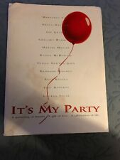 """MOVIE PRESS KIT """"IT'S MY PARTY"""" WITH PRODUCTION NOTES"""