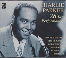 Charlie Parker 28 Jazz Performances (Be Bop A Lula) 1993 BXL Doppel CD