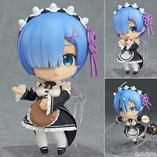 Re Zero Starting Life in Another World Rem 663# Figure Toy nendoroid change face