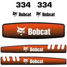 Bobcat 334 Decals Stickers, Repro Aftermarket Decal kit