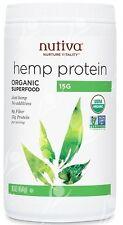 Nutiva, orgánicos superalimento, proteína de cáñamo, 15g, 16oz (454 g)