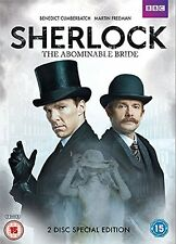 BBC SHERLOCK THE ABOMINABLE BRIDE     BRAND NEW SEALED GENUINE UK DVD