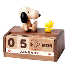 New Snoopy & Woodstock Perpetual Calendar - Peanuts gifts toys collection
