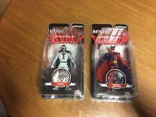 Dc Collectibles Batman Reborn Two Face Azrael Figure Lot