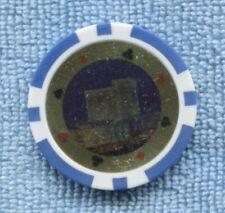 Casino $10  Chip  ??? Spade Heart Diamonds Clubs T-255