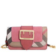 Burberry Mini Buckle Phone Bag- Rose Pink