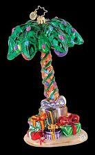 RADKO 3012877 TROPICAL TANNENBAUM - CORONA PALM TREE - SALT LIFE - ORNAMENT