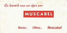 Buvard Vintage  Boisson Muscabel