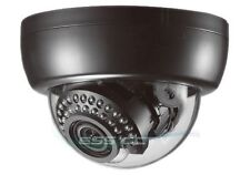 KT&C DNE100NUV18 DOME IR SECURITY CAMERA 750 TVL D-WDR 2D-DNR SONY CCD II 30 LED