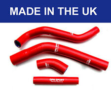 YAMAHA YZF450 YZ450F 2010 - 2017 SILICONE RADIATOR HOSES RED WATER COOLANT PIPES