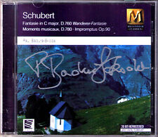 Paul BADURA-SKODA Signed SCHUBERT Wanderer-Fantasie Impromptus Moments Musicaux