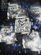PUBLICITE ADVERTISING 112 2012   TAG  HUEUR  montre MONACO V4             161112