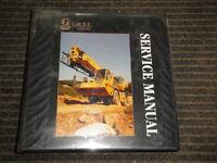 GROVE RT800B SERVICE Maintenance Manual Package 09/1993