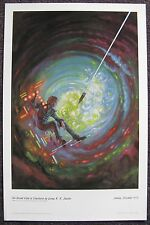 KELLY FREAS CLASSICS OF SCI FI PRINT SECOND KIND OF LONELINESS