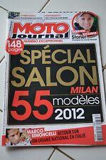 MOTO JOURNAL N°1976 MARCO SIMONCELLI, KAWASAKI Z 1000 R ★ SPECIAL SALON 2011 ★