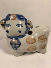 M.A.Hadley ceramic cow toothbrush holder