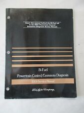 2001 FORD BI-FUEL POWERTRAIN CONTROL / EMISSIONS DIAGNOSIS SERVICE MANUAL