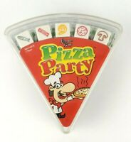PIZZA PARTY Card & Dice Game - University Games Red Pack NEW SEALED