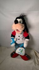 "Disney Store #1 Dad Bowler bowling bag Goofy 14"" Stuffed Animal Plush Doll"