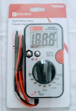 Utilitech Digital Battery Tester With Test Leads 1634354 Brand New Sealed