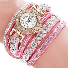 Fashion Women Stainless Steel Bling Rhinestone Bracelet Wrist Watch Hot SALE