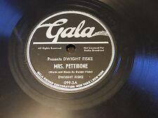 Dwight Fiske - Gala 78 RPM - Two Horses & A Debutante - In E-/E Condition!