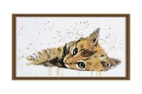 Cross stitch kit Sluggard (cat) art. 929