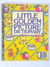 Little Golden Picture Dictionary ~ Vintage 1981 Children's Little Golden Book