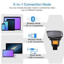 Eyoyo USB Wired & 2.4G Wireless  Bluetooth Barcode Scanner 1D Reader Pocket Bro