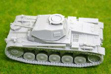 1/56 scale – 28mm WW2 GERMAN PANZER II Ausf F resin tank Blitzkrieg miniatures