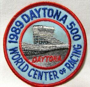 Vintage 1989 Daytona 500 Patch World Center of Racing 31st Running Souvenir NOS
