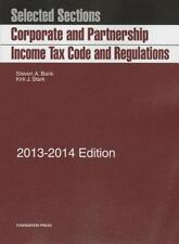 Selected Sections Corporate and Partnership Income Tax Code and Regulations, 20