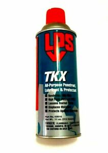 LPS 02016 TKX All Purpose Lubricant NSF H2 Food Grade 11 oz Can