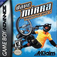 Dave Mirra''s Freestyle BMX 3 GBA New Game Boy Advance