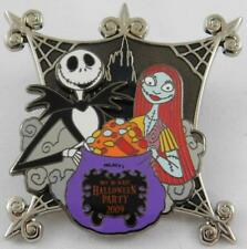 Disney Not So Scary Halloween Party 2009 Jack Sally Pin New LE 2000 Nightmare B