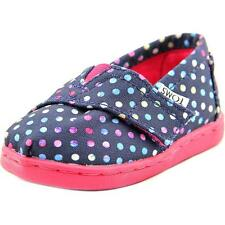 Classic Toms S Blue Poly Canvas Dots 10006648 Tiny 4